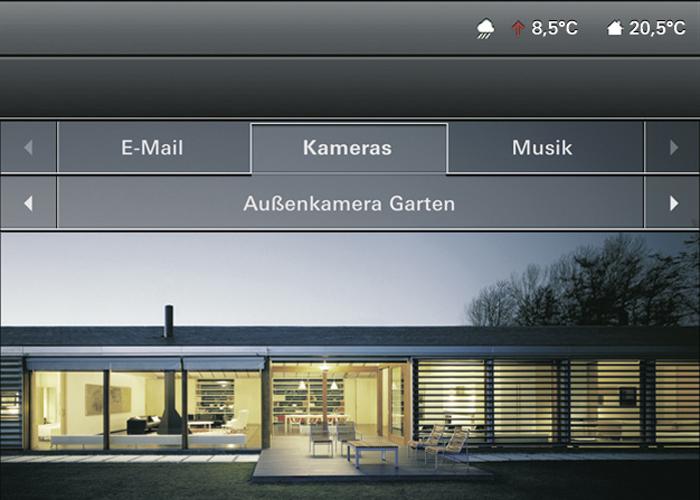 geb ude kommunikationstechnik smart home systeme. Black Bedroom Furniture Sets. Home Design Ideas